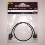 SCP Ultra slim HDMI cable - 1.5ft (0.5m)